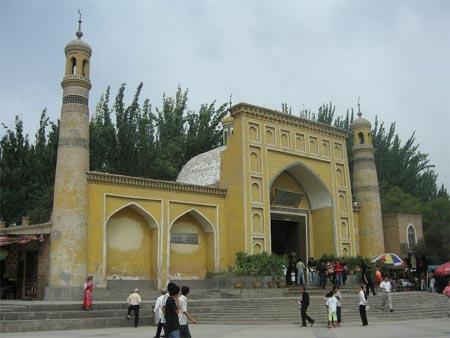 المسجد Heitokaru في كاشغر