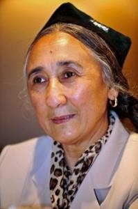 Rabia-Kadir-WUC Başkanı