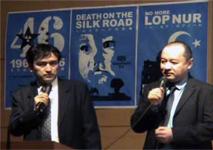 シンポジウム「シルクロードにおける中国の核実験災害と日本の役割」を主催。