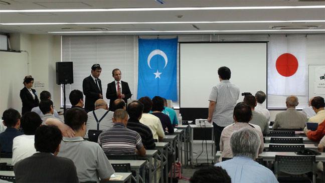 7・5ウルムチ大虐殺5周年記念講演会、講師エリキン・エメイト氏