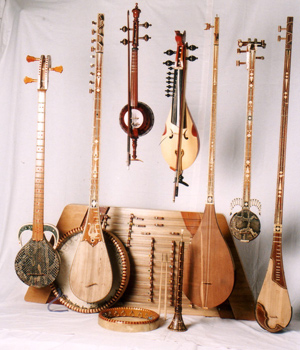 ウイグル楽器コレクション